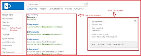 create display template sharepoint 2013 sharepoint 2013 result types