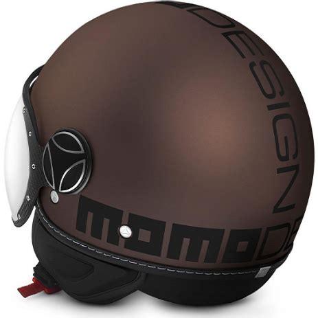 evo design helmet momo fighter evo helmet in matt tobacco scooter crazy ltd