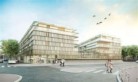 Architectural Renderer Architectural Rendering Architectural Visualization Building La Glaciere