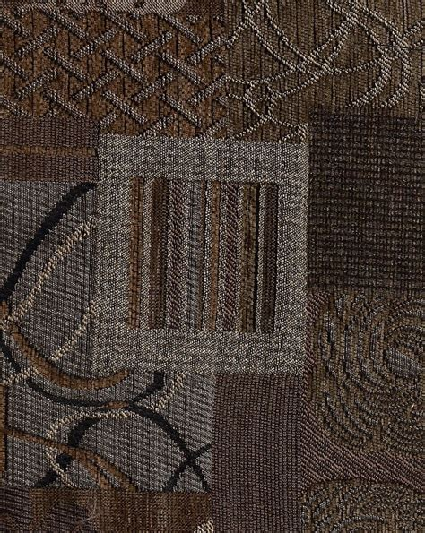 Mill Creek Upholstery Fabric by Bellefleur Woodland Swavelle Mill Creek Brown Black