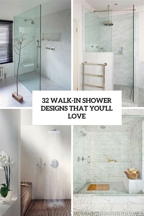 Bathroom Showers Designs Walk In 32 Walk In Shower Designs That You Will Digsdigs