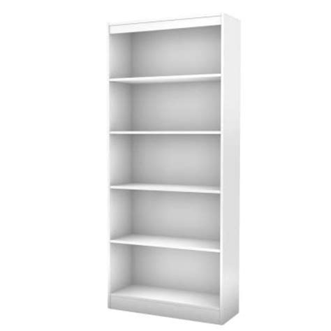 south shore furniture freeport 5 shelf bookcase in