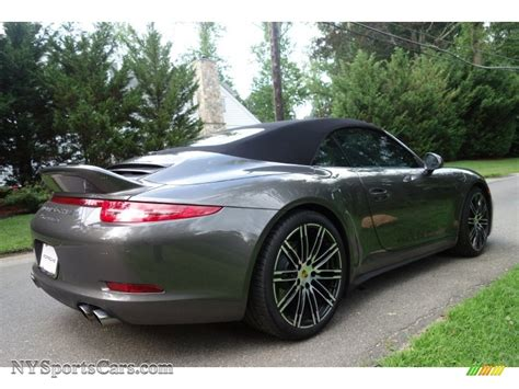 grey porsche 911 convertible 100 porsche agate grey porsche carrera 4s stinger