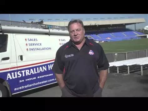 Plumbing Franchise Australia by Australian Water Partners With The Canterbury Bulldogs