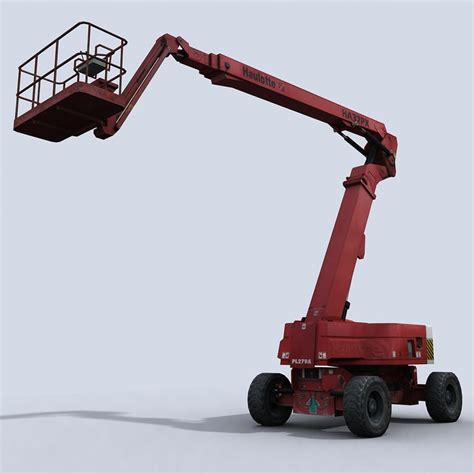 Cherry Picker Machine by 3d Cherry Picker Model