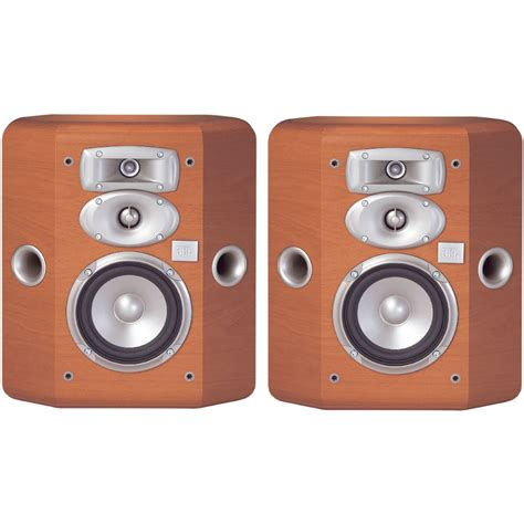 jbl l810 3 way bookshelf speakers cherry pair l810ch h b h
