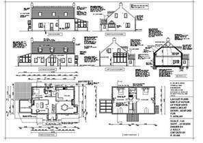 house drawing plans construction drawings