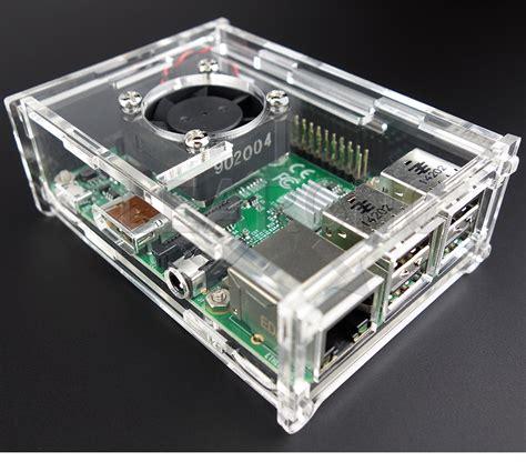 Casing Raspberry Pi 3 Pi 2 Pi B Abs raspberry pi 3 2 plus b box enclosure combo active fan cooling ebay