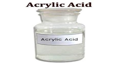 Acrylic Acid acrylic acid assignment point