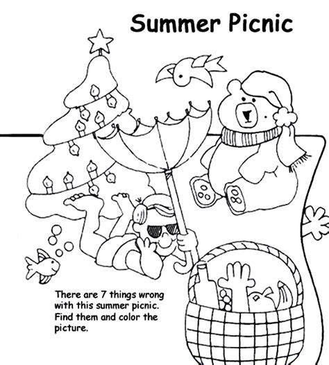 no better vacation an coloring book to relieve work stress volume 2 of humorous coloring books series by thompson books summer picnic coloring page crayola