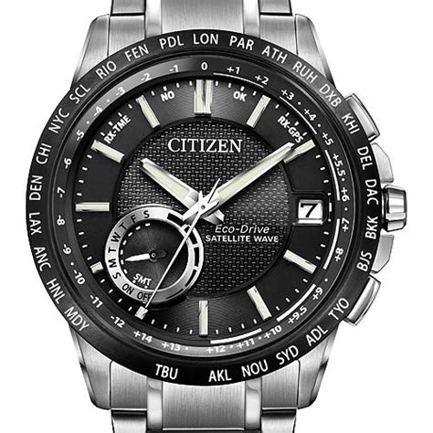 Citizen Eco Drive Satelite Wave how it works citizen eco drive satellite wave world time