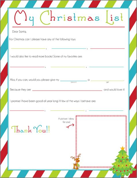 free christmas letters from santa