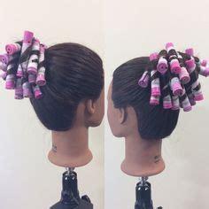 ponytail perm wrap on november 9th i did a single halo perm wrap i used