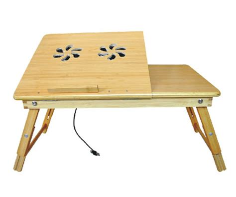 bamboo laptop desk bamboo laptop desk multi functional laptop reading bamboo stand with cooling fan