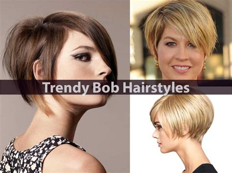 Trendy Bob Hairstyles by Trendy Bob Hairstyles Which Are Never Out Of Fashion