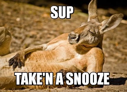 Sup Meme - meme creator sup take n a snooze meme generator at