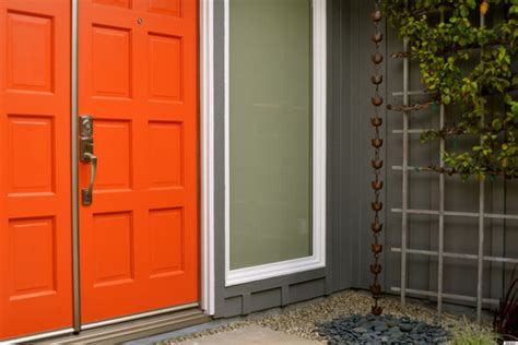 Front Doors Trendy Colors Painting A Metal Front Door 86 How To Paint A Steel Front Door