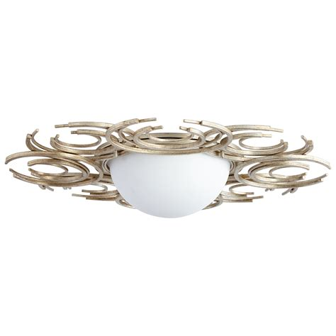 Silver Ceiling Light Silver Ceiling Mount Light