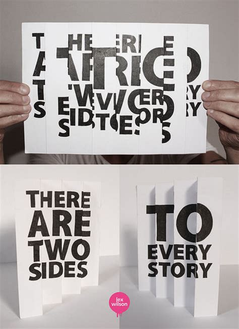 Poster Inspiratif Do What You Every Day Hiasan Dinding quotes about two sides to every story quotesgram