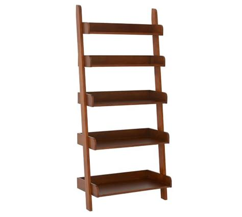 Pottery Barn Ladder Shelf studio wall shelf pottery barn