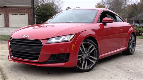 audi tt s tronic review 2016 audi tt quattro s tronic start up road test and in
