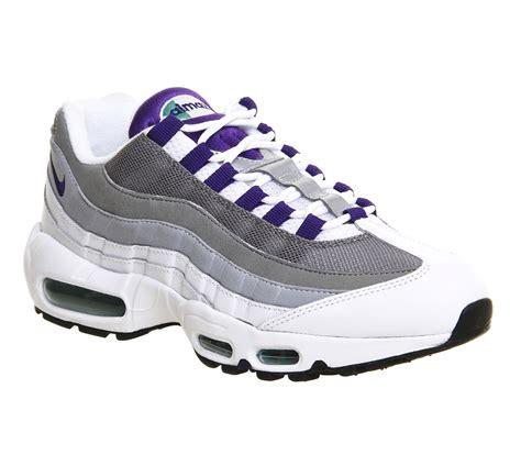 Nike Airmax Purple Code N06 nike air max 95 white court purple wolf grey m sneaker