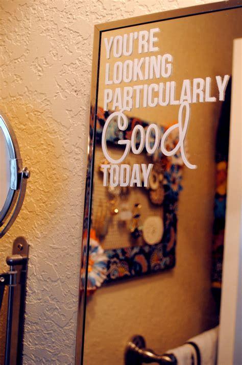 Mirror Stickers Bathroom Mirror Bathroom Wall Decal Bathroom Wall Decals Child Room And Vinyl Decals
