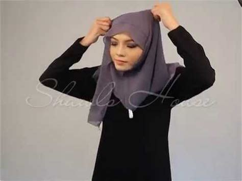 Instan Simple Shawls House Tutorial Instant Shawl Simple