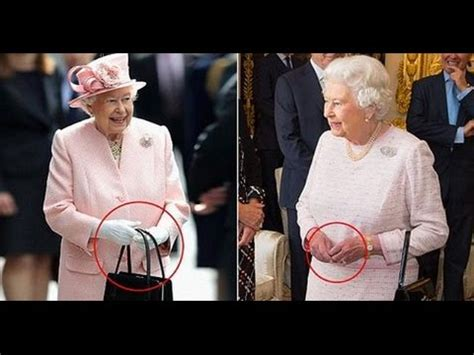 queen elizabeth purse signals queen uses her handbag to send secret signals to her staff