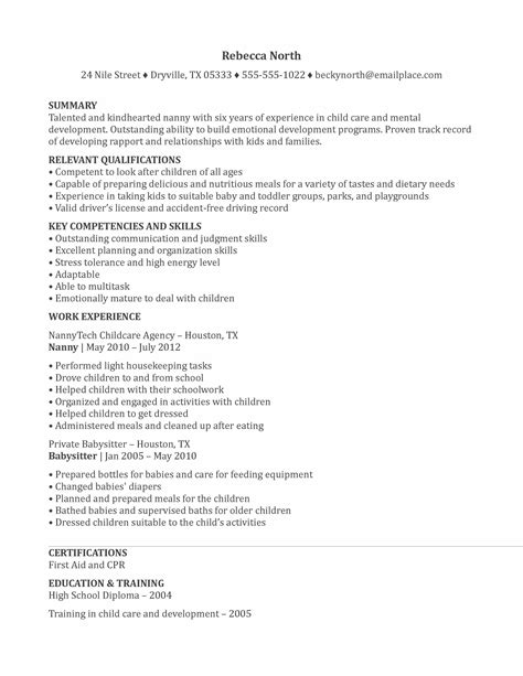 nanny cover letter sample maths equinetherapies co