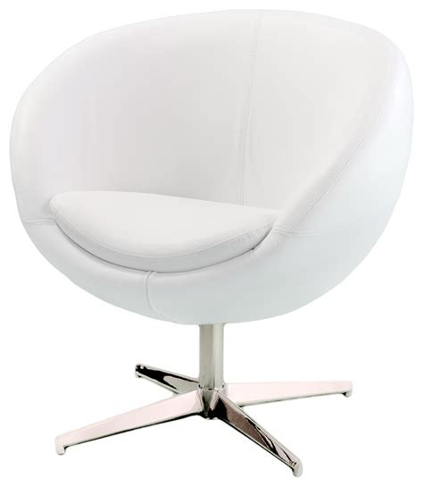 White Armchairs For Sale Design Ideas Sphera Accent Chair White Modern Armchairs And Accent Chairs By Gdfstudio