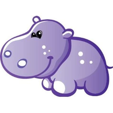 imagenes infantiles hipopotamo purple baby booties clip art dibujos de hipopotamos para