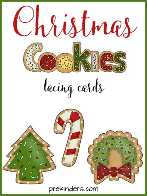free printable christmas lacing cards free christmas printables for kids babycentre blog