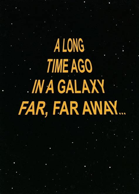 a time ago in a buy wars birthday card a time ago in a galaxy