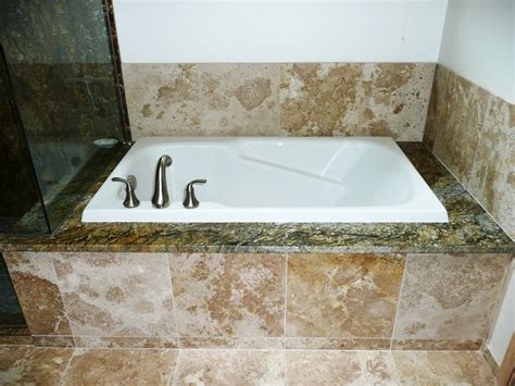 granite bathtub surround granite bathtub wall surround roselawnlutheran