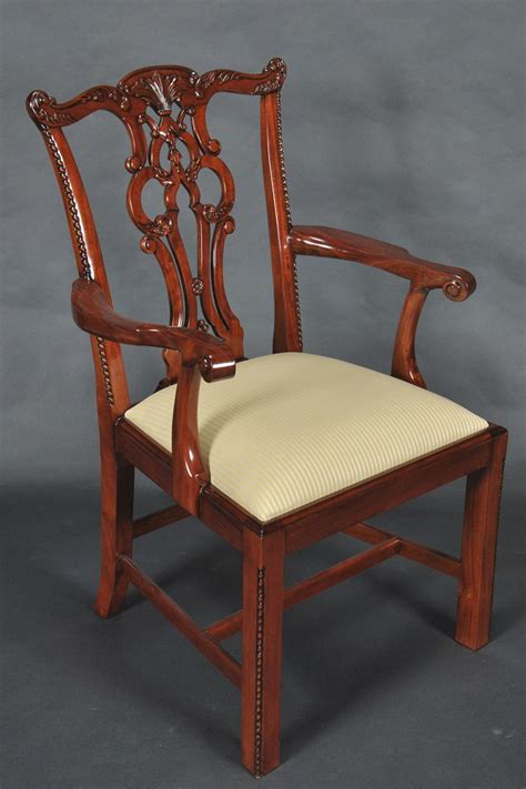 Chippendale Dining Room Chairs by Chippendale Solid Mahogany Straight Leg Dining Room Chairs