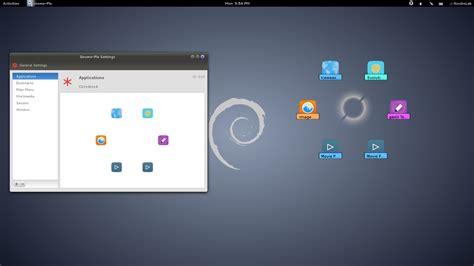 gnome themes install debian install gnome pie in debian 7 8 debian based derivatives