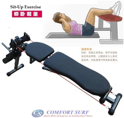 professional sit up bench new model professional multifunction abs six pack care gym