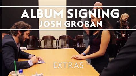 Josh Groban Stages Album Signing At Barnes Noble Los Angeles Extras | josh groban stages album signing at barnes noble los