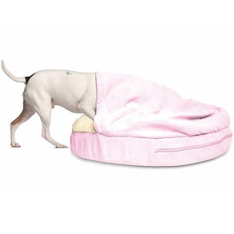 furhaven pet bed furhaven faux sheepskin snuggery orthopedic dog cave bed