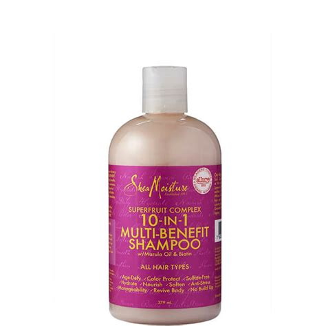 Shea Moisture Detox Wash by Shea Moisture Superfruit Complex 10 In 1 Renewal System