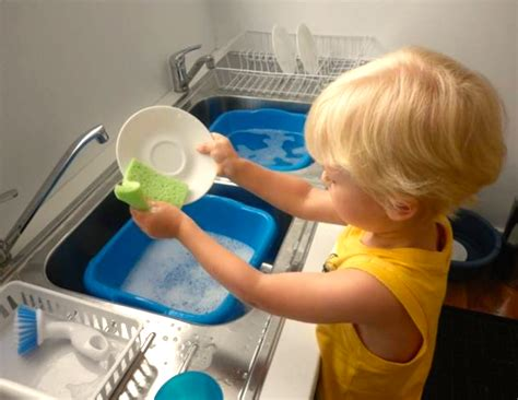 Pictures Of Washing Dishes
