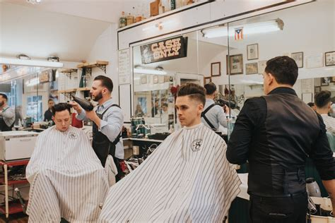 barber downtown cincinnati this barbershop pairs deeper roots coffee with a slick