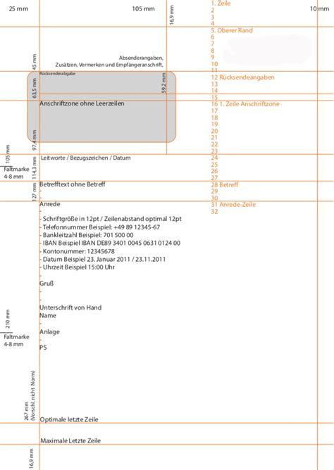 Brief Regeln Schweiz Din 5008 Brief Regeln F 252 R Den Gesch 228 Ftsbrief