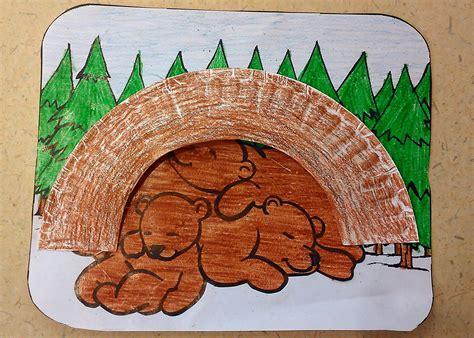 hibernation crafts for hibernating craft crafts bears and craft