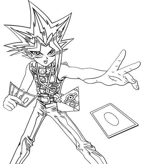 coloring page yu gi oh yu gi oh cards cast coloring page kids coloring pages