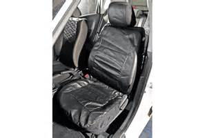Halfords Car Covers Large Halfords Leather Look Car Seat Covers Auto Express