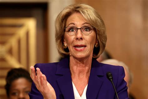 betsy devos business betsy devos controversial statements on african american