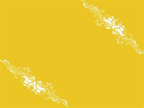 template powerpoint yellow yellow ornaments ppt template design ppt backgrounds