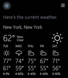 Hi Cortana Whats The Weather Today » Home Design 2017